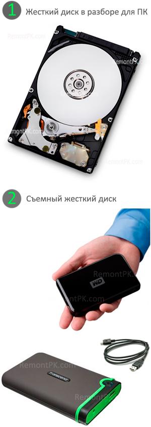 Как сделать жёсткий диск съемный 327